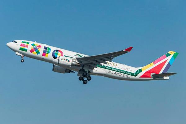 Alitalia (2nd)-Etihad A330-200 (14-Expo Milano 2015)(Tko)(Alitalia)(LRW)