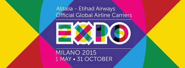 Alitalia (2nd)-Etihad Expo Milano 2015 logo