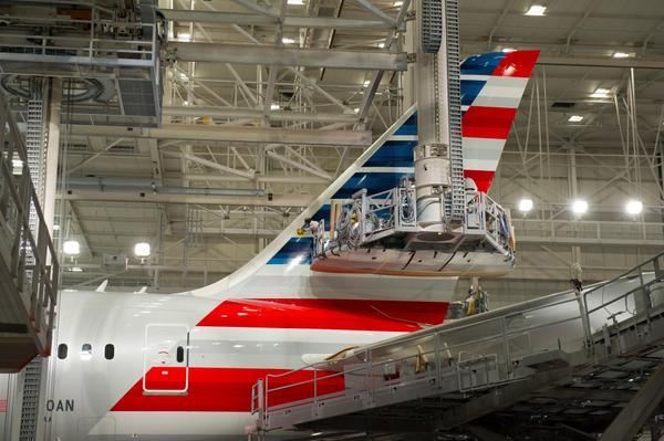 American 787-8 N800AN (13)(Tail)(American)(LR)