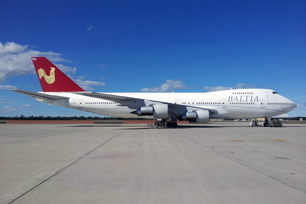 Baltia 747-200B N706BL (11)(Grd) YIP (Baltia)(LRW)
