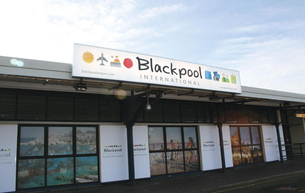 Blackpool Airport Terminal (LRW)