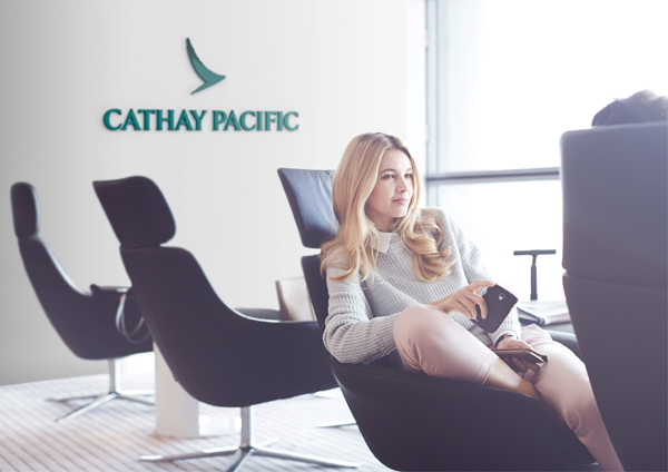 Cathay Pacific lounge (LRW)
