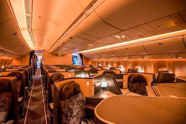 China Airlines 777-300 Cabin 1 (Boeing)(LR)