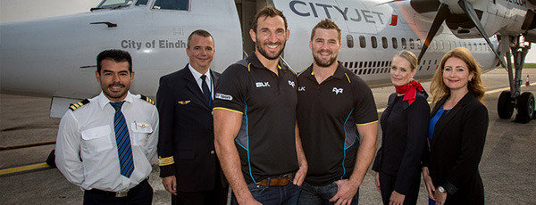 CityJet and Ospreys Rugby