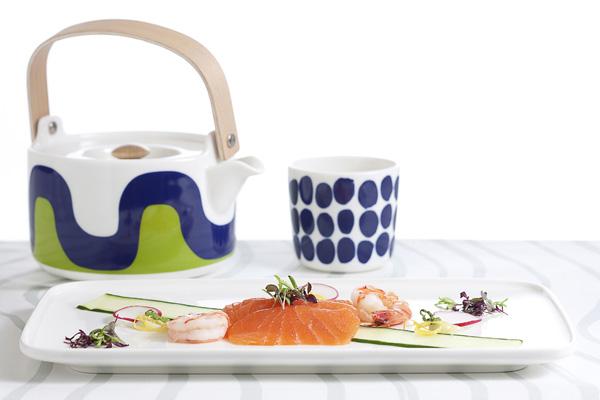 Finnair Marimekko tableware Business Class (Finnair)(LRW)