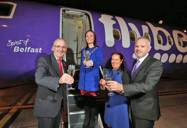 Flybe Spirit of Belfast (Flybe)(LR)
