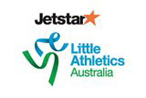 Jetstar Little Athletics Australia logo