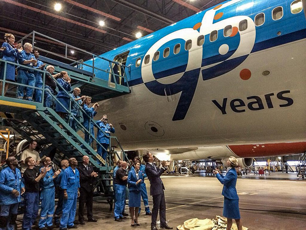 KLM MD-11 95 Years (LRW)