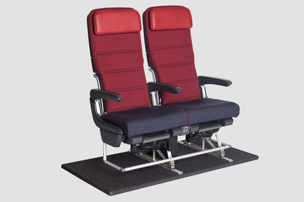 QANTAS Economy Recaro seat (QANTAS)(LRW)