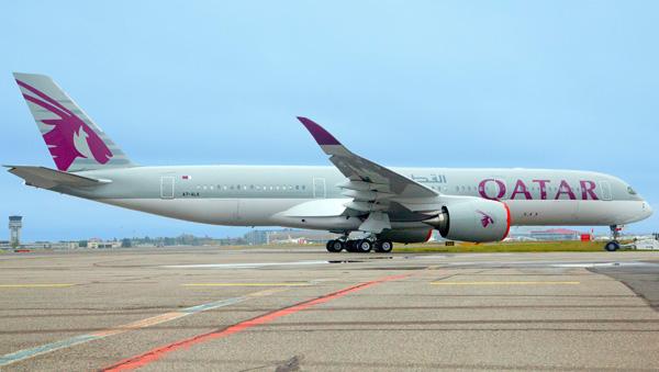 Qatar A350-900 A7-ALA (06)(Grd) TLS (Airbus)(LRW)