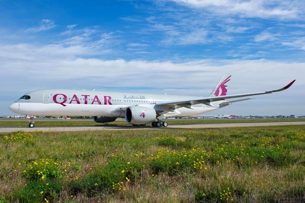 Qatar A350-900 F-WZFA (A7-ALA)(06)(Grd) TLS (Airbus)(LRW)