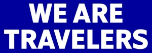 SAS We Are Travelers logo