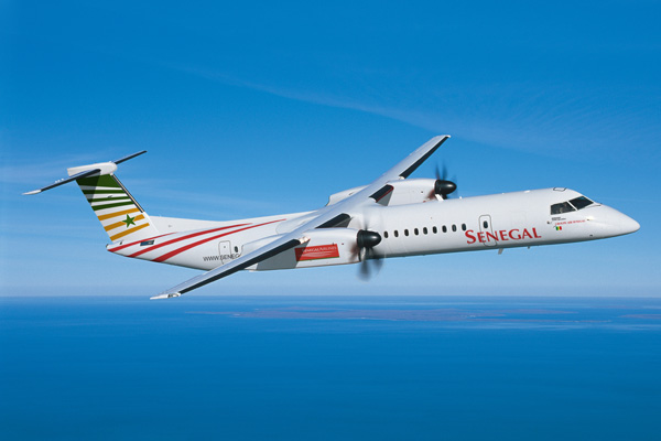 Senegal DHC-8-400 (11)(Flt)(Bombardier)(LRW)