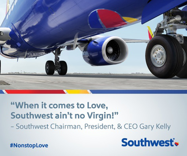 Southwest ain't no Virgin