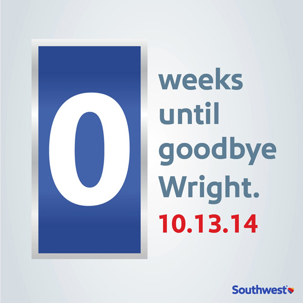 Southwest Goodbye Wright