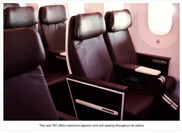 Virgin Atlantic 787-9 Seat
