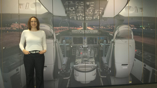 Virgin Atlantic Haylet Burton #1