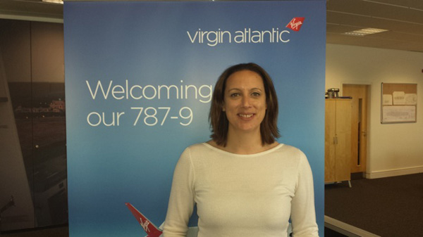 Virgin Atlantic Hayley Burton #2