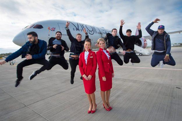 Virgin Atlantic Rudimental and Gordon City