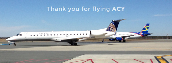 ACY - Thank you for flying