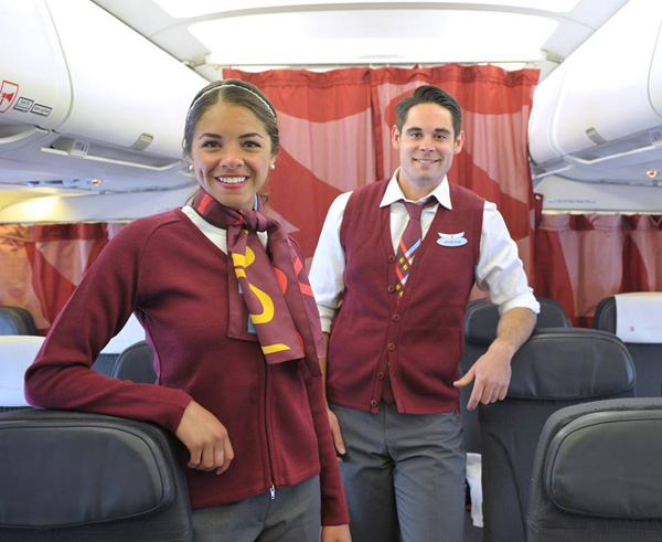Air Canada rouge FAs
