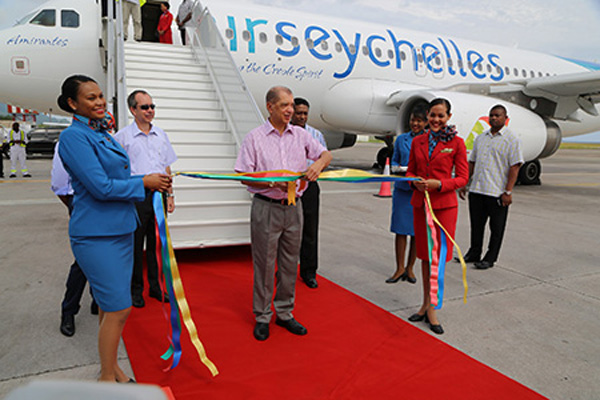 Air Seychlles A320-200 Welcome (Air Seychelles)(LR)