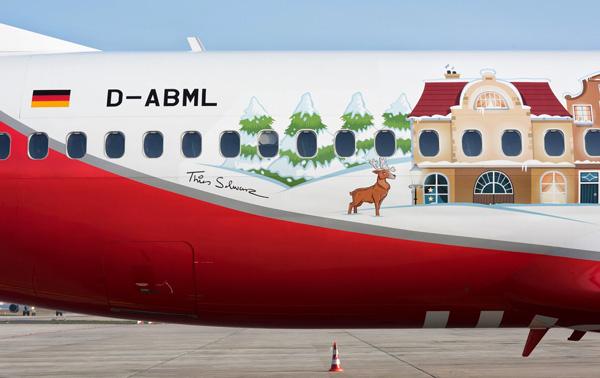 Airberlin 737-800 WL D-ABML (14-Christmas)(Reg)(Airberlin)(LRW)