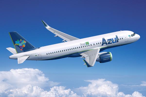 Azul A320-200neo (Flt)(Azul)(LRW)