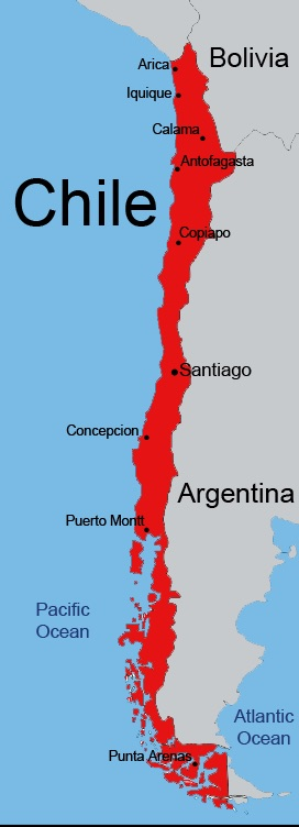 Chilejet.com 11.2014 Route Map