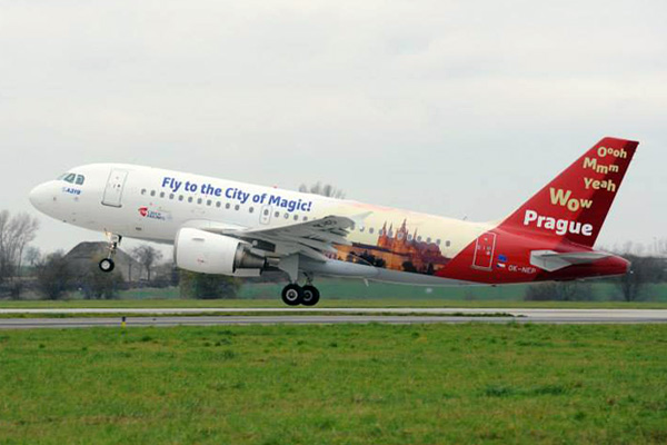 Czech A319-100 OK-NEP (14-Wow Prague-L)(Tko) PRG (Czech)(LR)