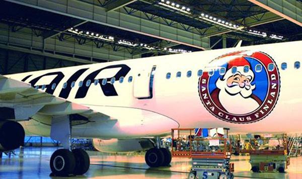 Finnair A321-200 OH-LZL (14-Santa Claus Finalnd)(Finnair)(LR)
