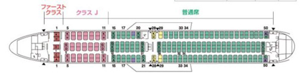 JAL 767-300 new configuration