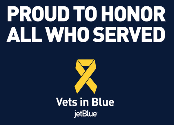 JetBlue Vets in Blue logo
