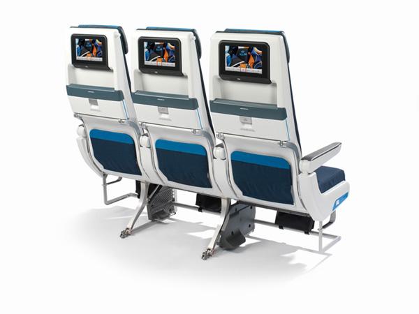 KLM 777-200 Seat Back