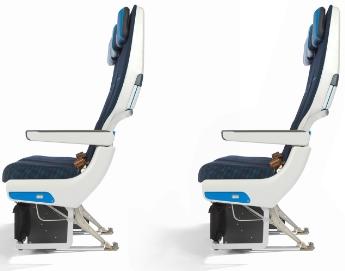 KLM 777-200 Seat