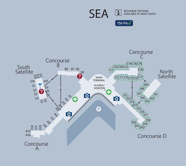 SEA Terminal Map 11.2014