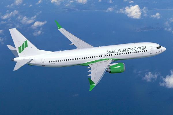 SMBC Aviation Capital 737 MAX 8 Artwork