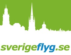 Sverigeflyg logo