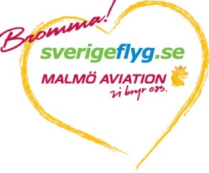 Sverigeflyg-Malmo Aviation logo