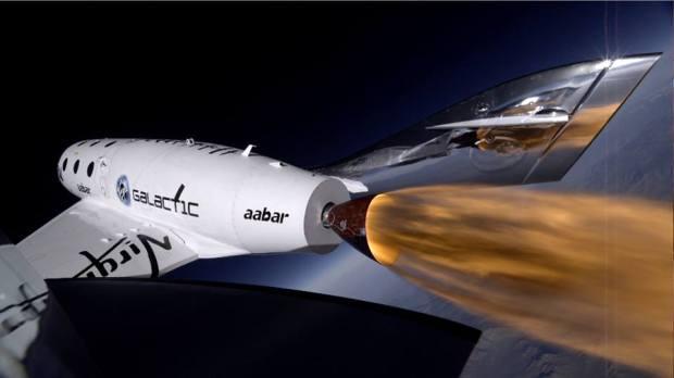 Virgin Galactic SpaceShipTwo 1
