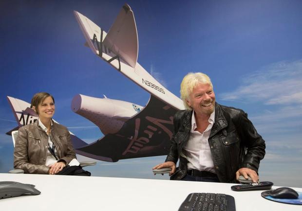Virgin's Richard Branson