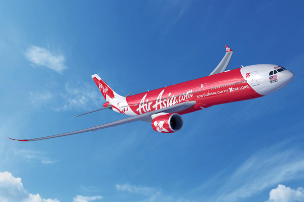 AirAsia X A330-900neo (14)(Flt)(Airbus)(LRW)
