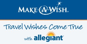 Allegiant Make-A-Wish logo