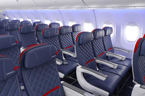 Delta 737 Comfort Plus (LRW)