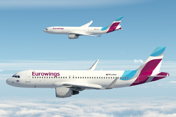 Eurowings A320-200 and A330-200 (14)(Flt)(LRW)