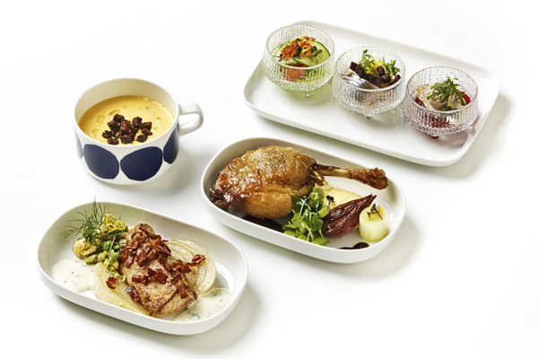 Finnair´s Christmas Menu 2014 by Pekka Terävä (LRW)