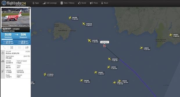 Flightradar24 flight track