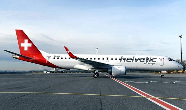 Helvetic ERJ 190-100 OE-IHD (HB-JVL)(06)(Grd)(Helvetic)(LR)