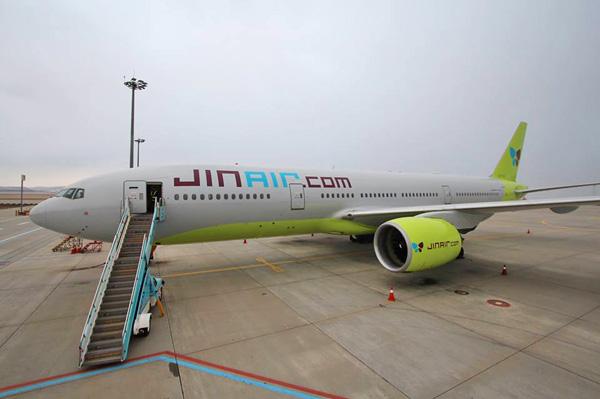 Jin Air 777-200 HL7743 (08)(Grd) ICN (Jin Air)(LR)