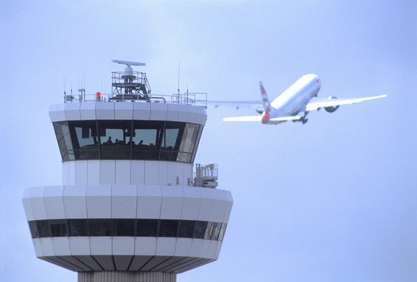 London Gatwick ATC Tower (LGW)(LRW)